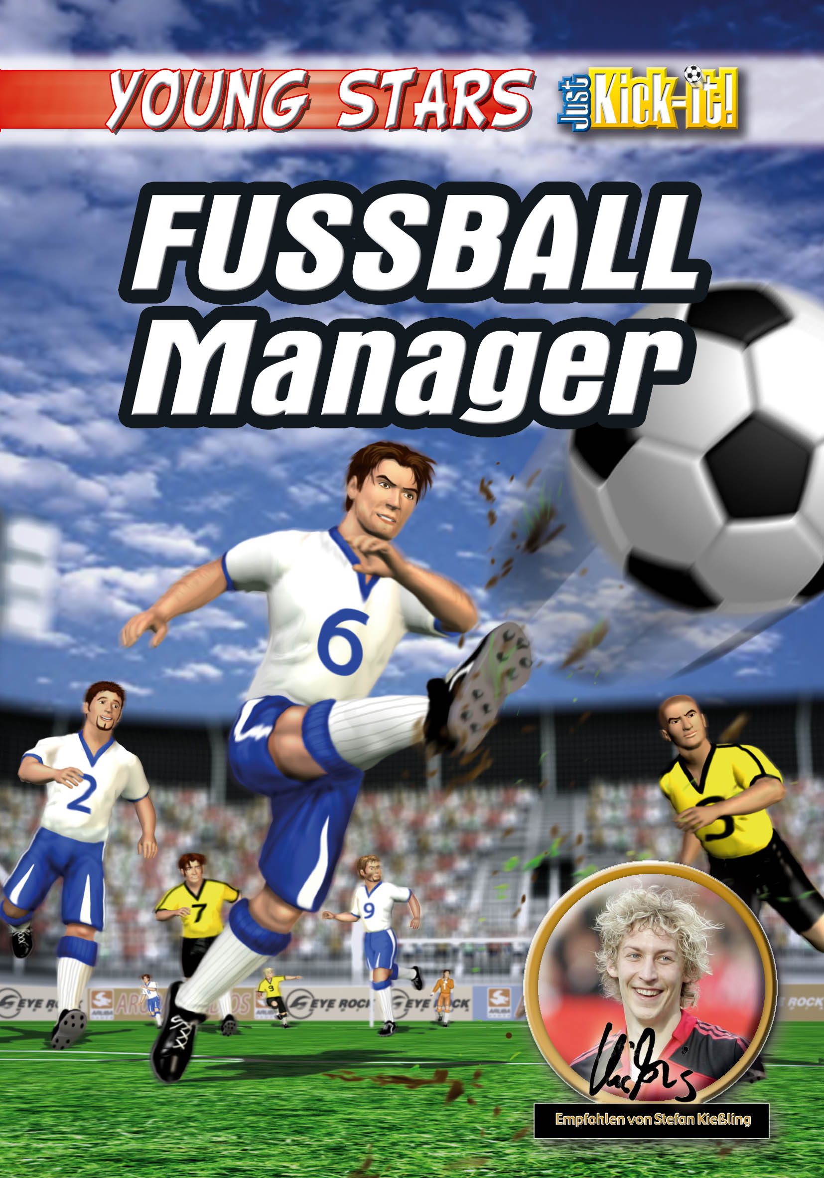 youngstars fussball manager review. Black Bedroom Furniture Sets. Home Design Ideas