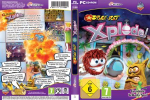 Space-Rat: Xplode! - Finaler Packshot
