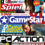 Spiele-Magazine mit Vollversionen