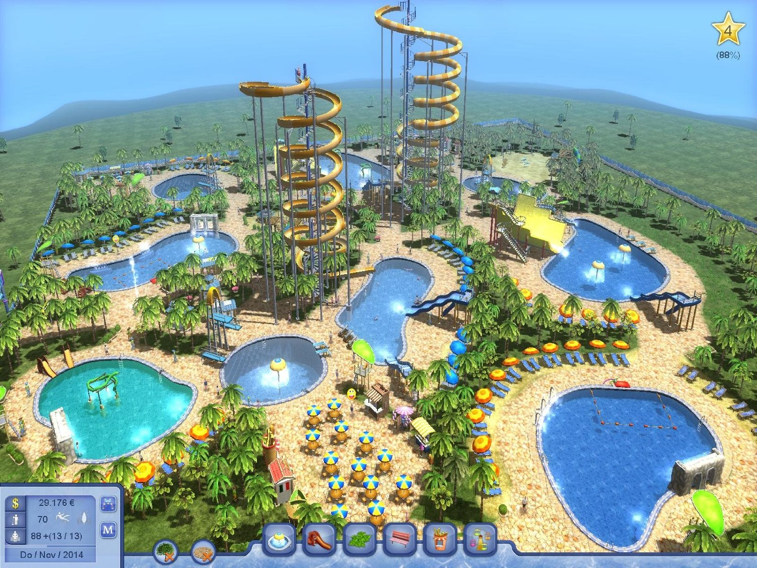Roller Coaster Tycoon Free Build Map