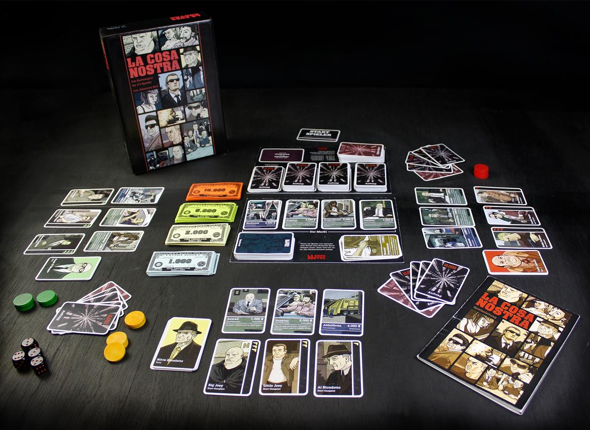 Mafia Kartenspiel