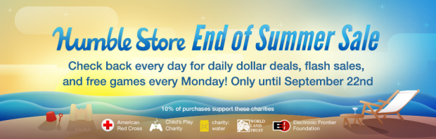 Humble Store End of Summer Sale