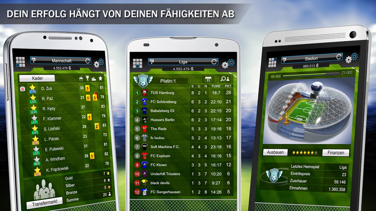 manager fussball spiele