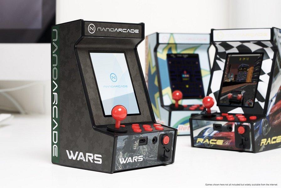Nanoarcade Die Weltweit Kleinste Arcade Spielkonsole