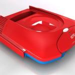 Retro VGS Spielkonsole Rot