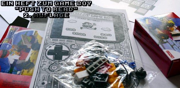 Game Boy Heft Magazin Auflage 2 Gimmick