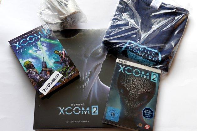 XCOM 2 - dickes Merch-Paket zu gewinnen
