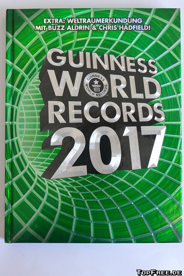 guinness world records 2017 guinness buch der rekorde rezension. Black Bedroom Furniture Sets. Home Design Ideas