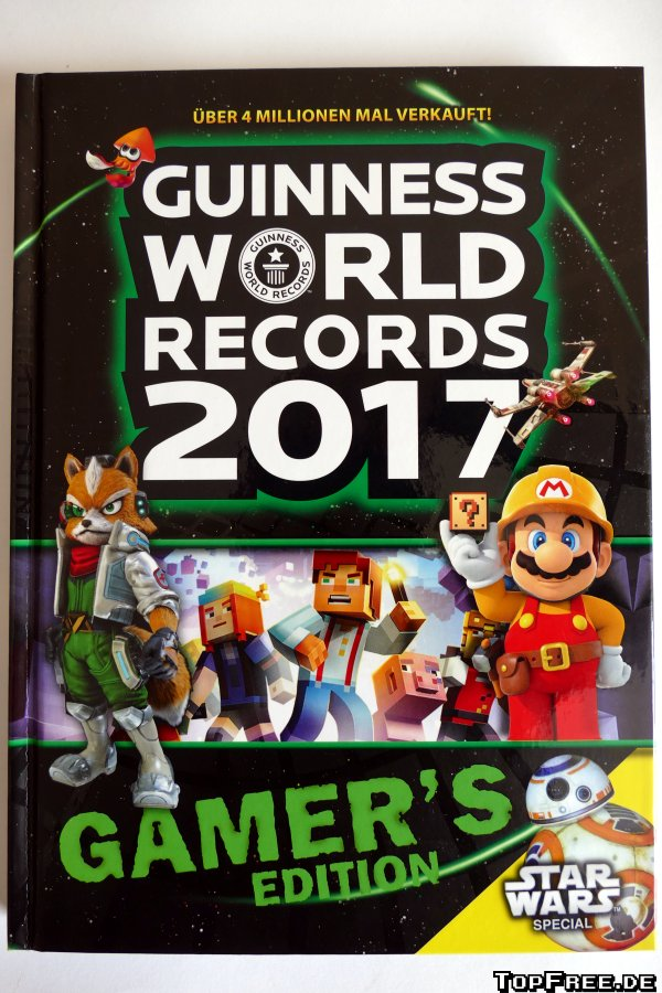guinness world records 2017 gamer 39 s edition rezension. Black Bedroom Furniture Sets. Home Design Ideas