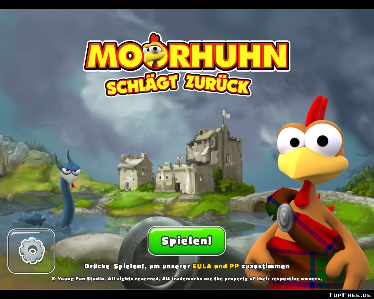 Spiel Moorhuhn