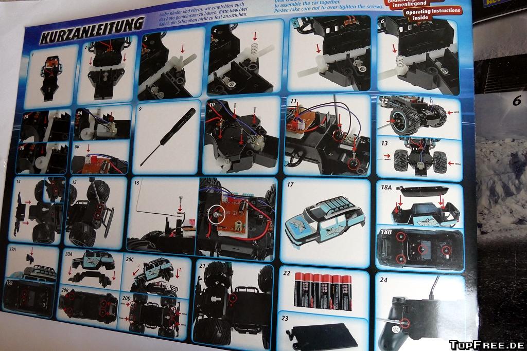 Revell Weihnachtskalender.Adventskalender Revell Control Rc Truck Topfree De
