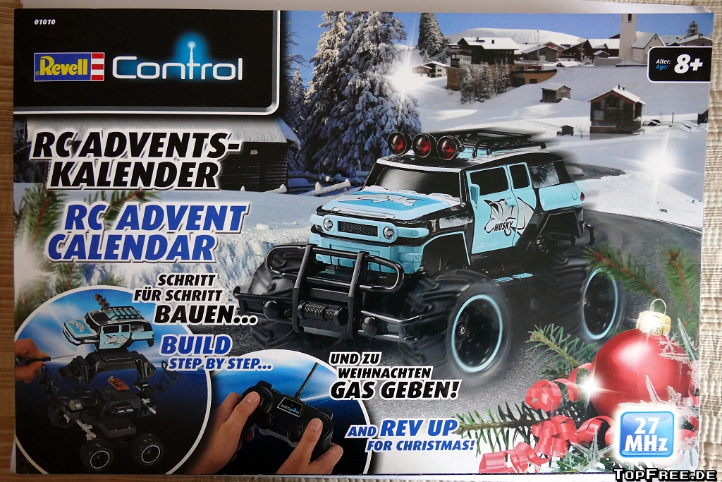 adventskalender revell control rc truck. Black Bedroom Furniture Sets. Home Design Ideas