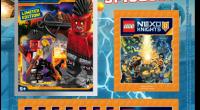Sie sind die heldenhaften Beschützer des modernen Königreichs Knighton, stellen sich furchtlos jedem Bösewicht entgegen – und stehen jetzt vor einem neuen großen Abenteuer: Die LEGO® NEXO KNIGHTS™ erhalten ihre […]