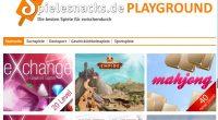Onlinespiele gesucht? Dann spiele doch mal im Playground bei unserem Partner. Denn im Spielesnacks Playground gibt es kostenlose Onlinegames aus allen Genres.
